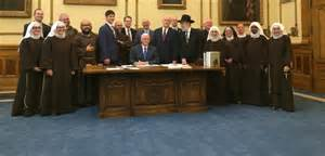 Bill signing or casting call for The Sound of Music 2?